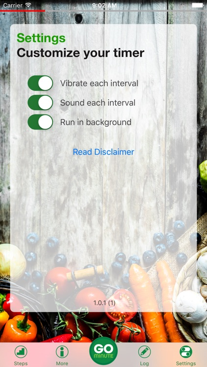 GoMinute - Slow Down Eating for Better Health! screenshot-4