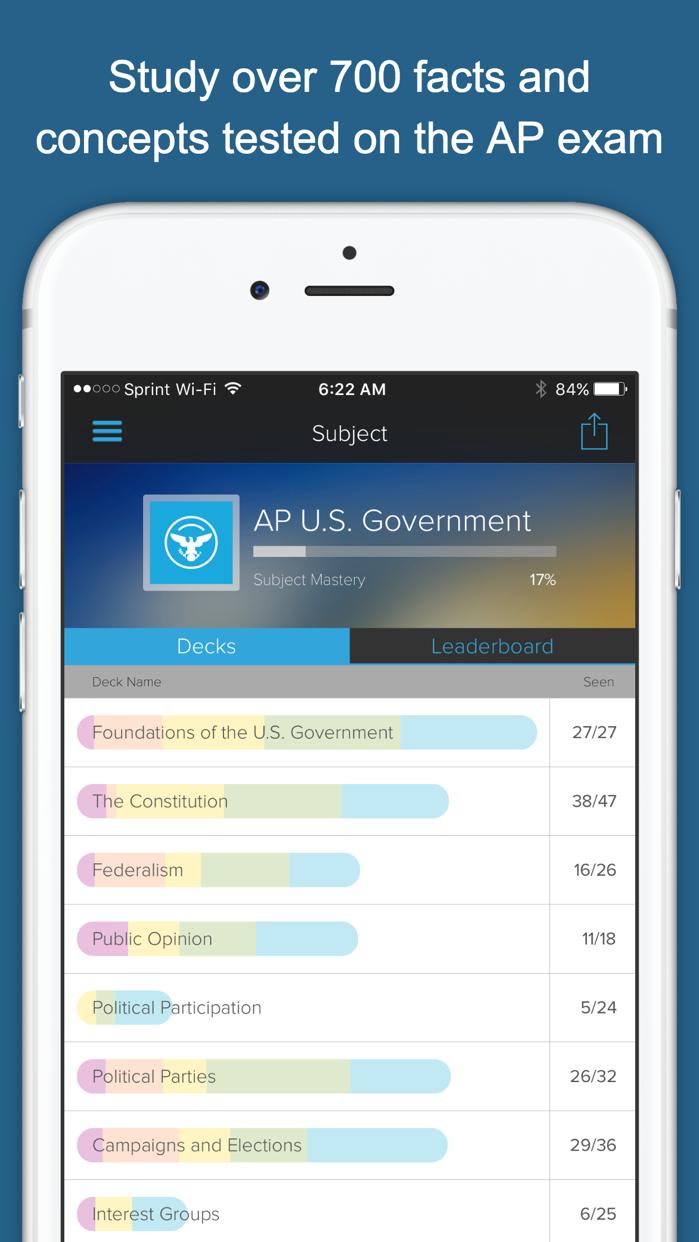 AP US Government & Politics + Screenshot