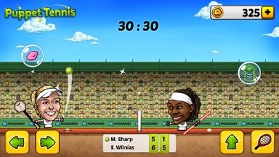 ... Screenshot  8 for Puppet Tennis  Topspin Tournament of big head  Marionette legends ... cff9f7ead4ddc