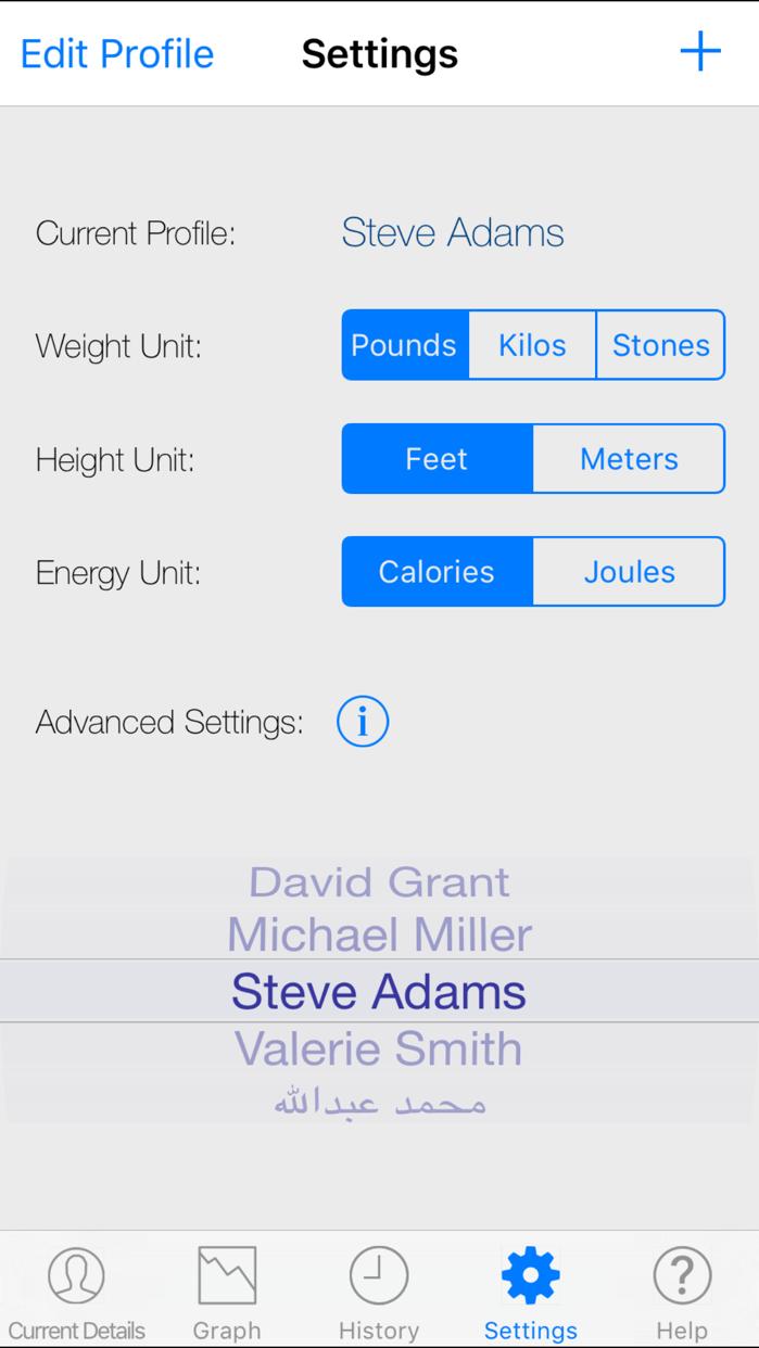 Monitor Your Weight Screenshot