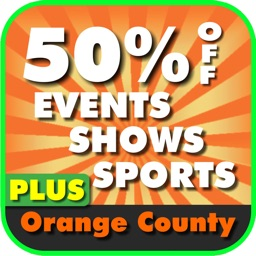 50% Off Orange County, California Events, Shows and Sports Guide Plus App by Wonderiffic®