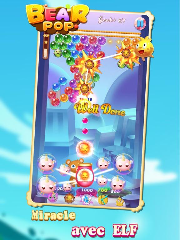 Screenshot #6 pour Bear Pop - Bubble Shooter Game