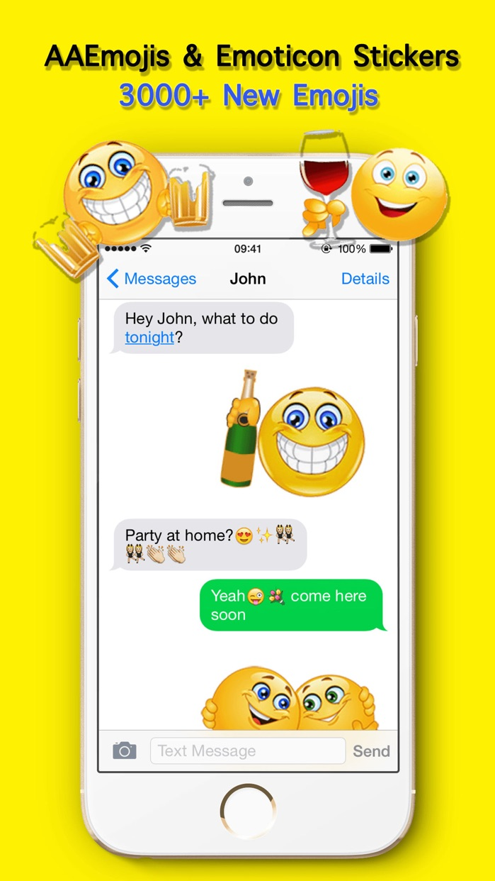 Adult Emoji keyboard Extra for Messenger Chatting Screenshot