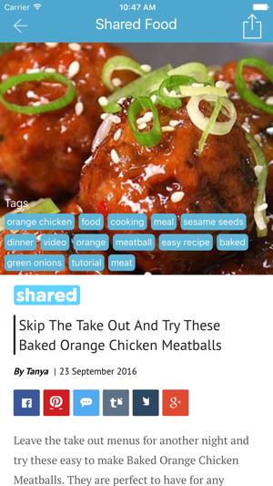 Shared food cooking videos en app store forumfinder Gallery