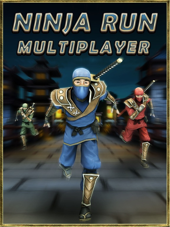 Ninja Run Multiplayer: Real Fun Racing Games 2-ipad-4