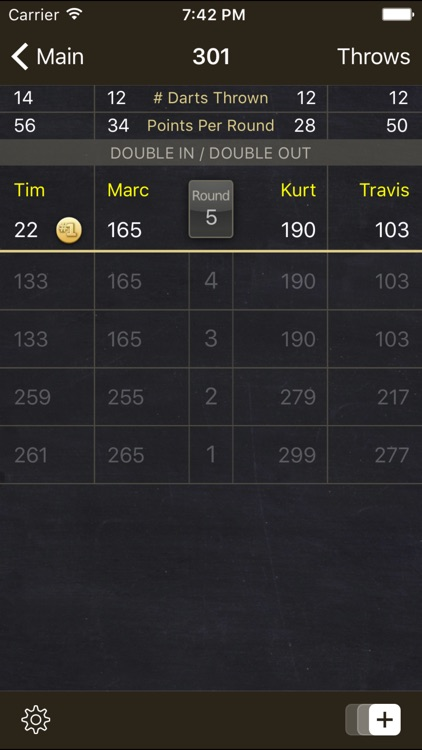 Dart Meister - The Darts Scorer screenshot-3