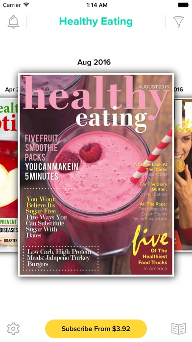 Healthy Eating Magazine review screenshots