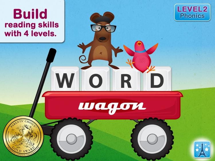 Word Wagon HD - by Duck Duck Moose
