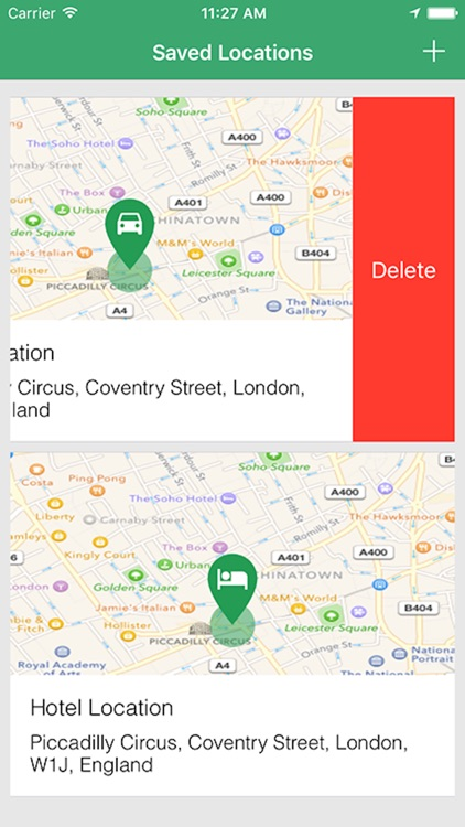 Simple Location Tracker - Track and Find Car Parking with GPS Map Navigation screenshot-4