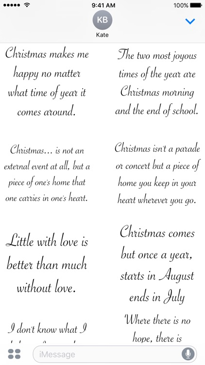 Christmas Quotes - A to Z Stickers screenshot-4