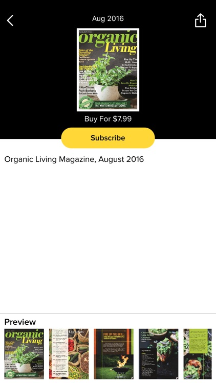Organic Living Magazine screenshot-2