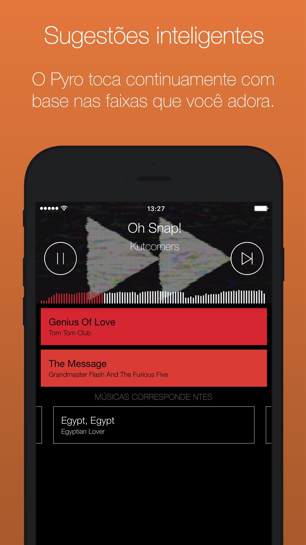 Screenshot do app Serato Pyro