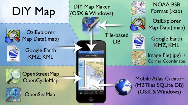 ‎DIY Map GPS (App for World Travelers)