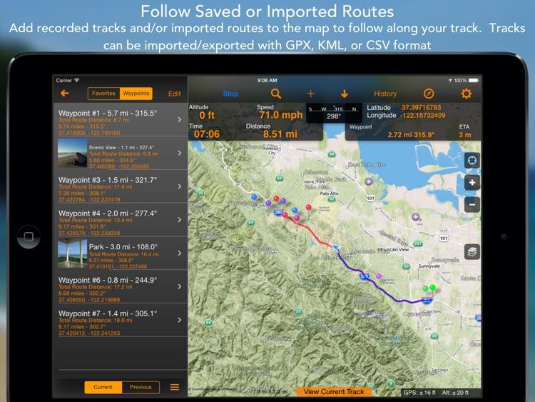 GPS Tracks HD