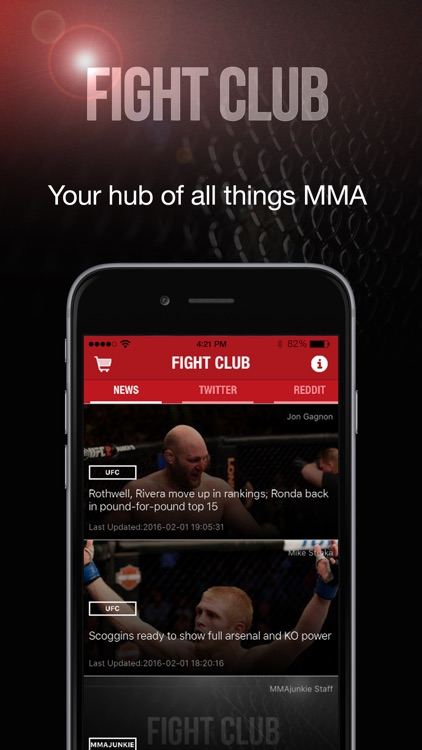 Fight Club - Your hub of all things MMA screenshot-0