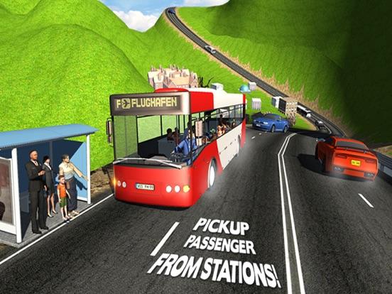 City Coach Bus Driver Simulator 2016 – Offroad Bus Hill Climbing Adventure-ipad-4