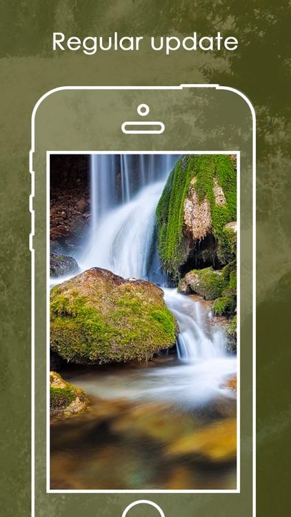 Waterfalls Wallpaper   Best Nature Backgrounds screenshot-3