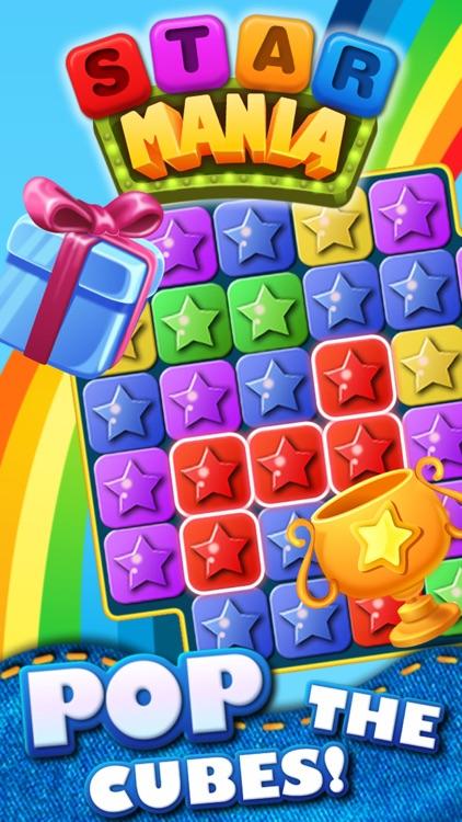 Star Mania Free - Block Crush Game