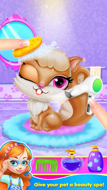 Pet Shop Story - Animal Care, Vet and Beauty Spa Salon: Dog & Cat Makeover!