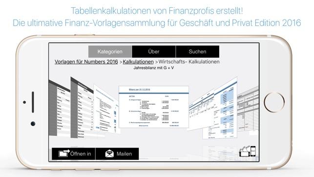 Vorlagen für Pages Numbers & Keynote Ed 2017 im App Store