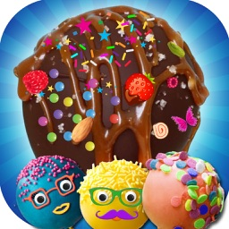 DIY Sweet Cake Pop Cooking Game - A Frozen Cake Pops Maker & Baking Chef Adventure