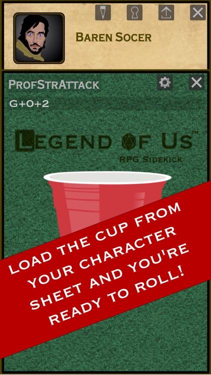 Legend of Us RPG Sidekick screenshot-3