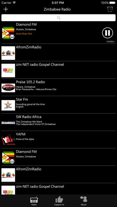 Zimbabwean Radio screenshot two