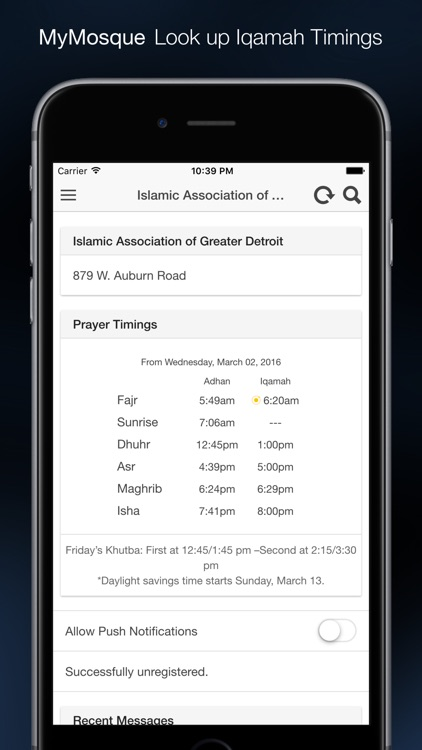 MasjidNow Muslim Prayer Times screenshot-3