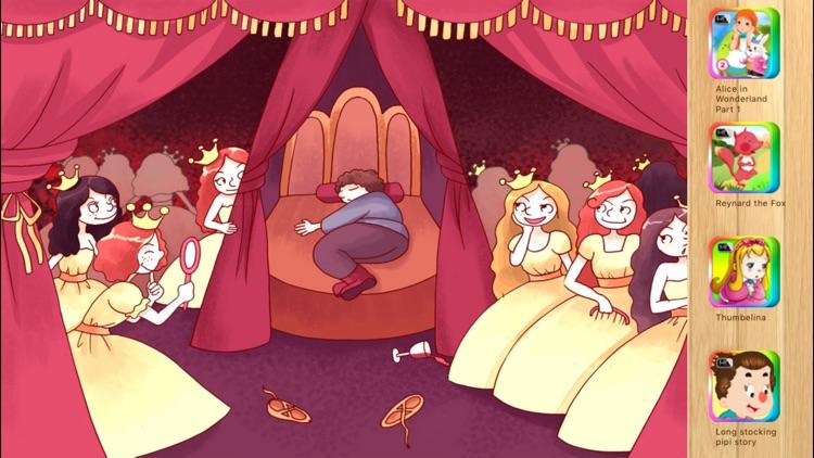Twelve Dancing Princesses Interactive Book iBigToy