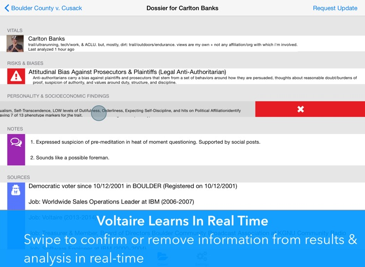 Voltaire Voir Dire screenshot-3