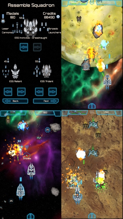 The Last Squadron - Battle for the Solar System screenshot-3