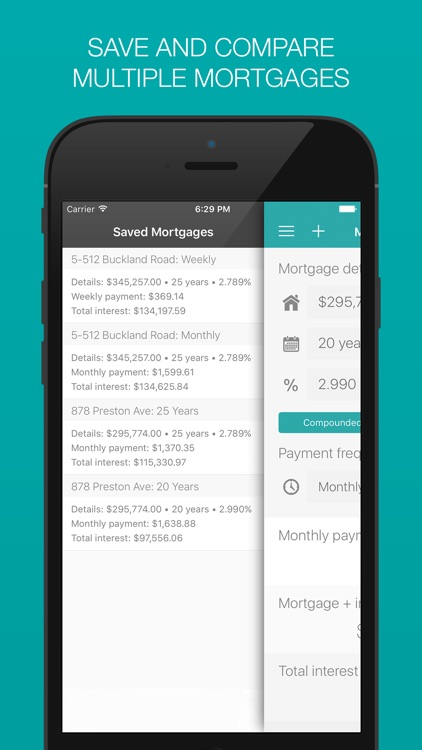 Mortgage Calculator: Weekly, Bi-weekly, Monthly Payment Options and More!