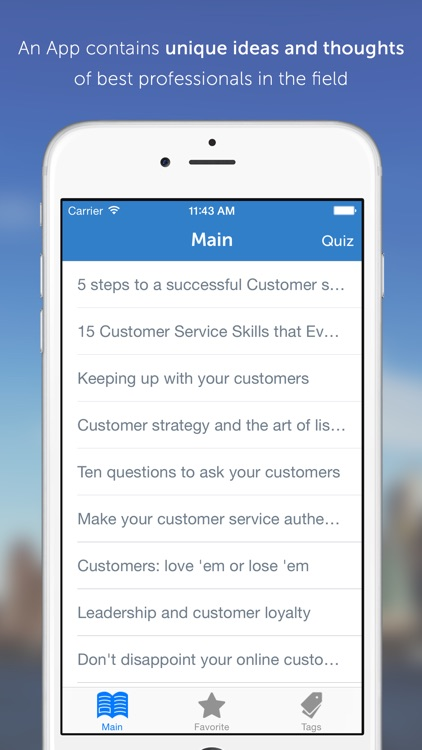 MBA Series: 25 Valuable Ideas in Customer Service