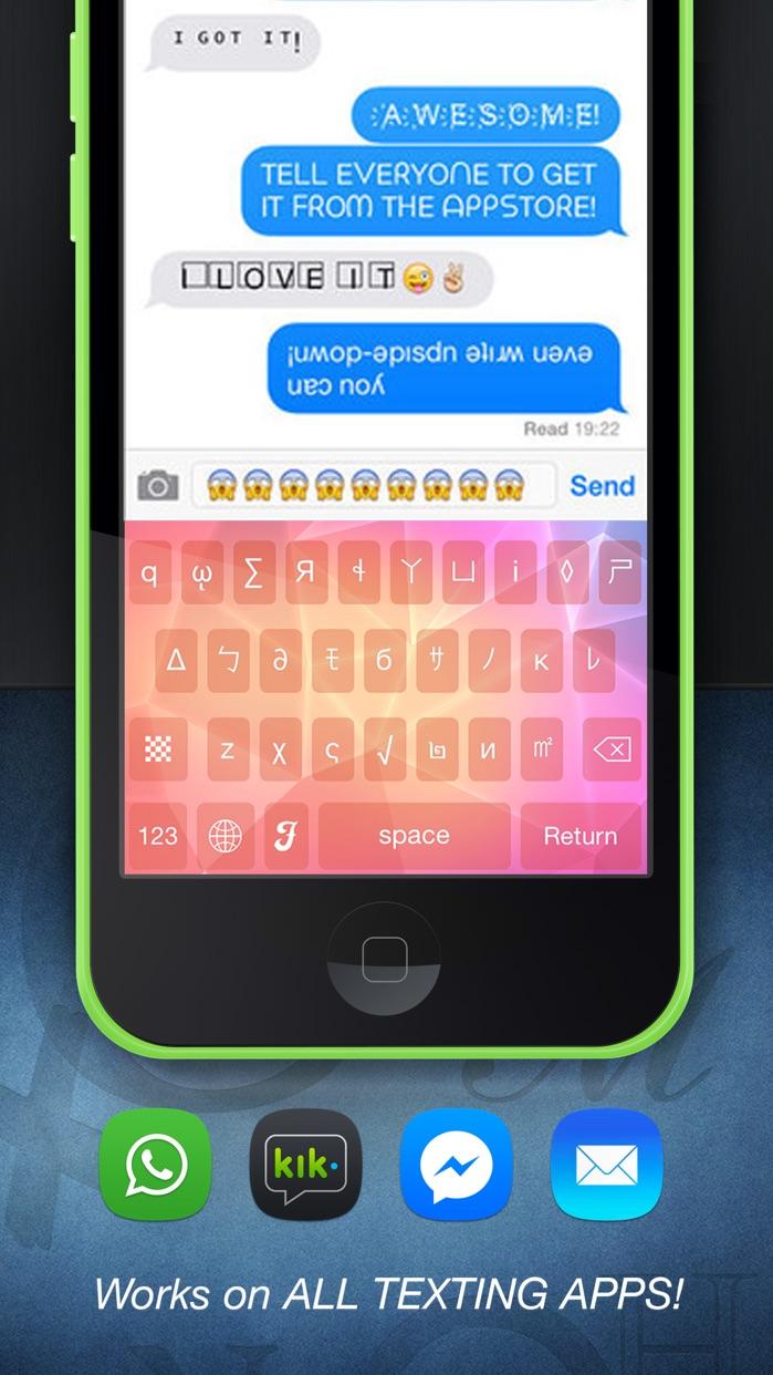 Cool Fonts Screenshot