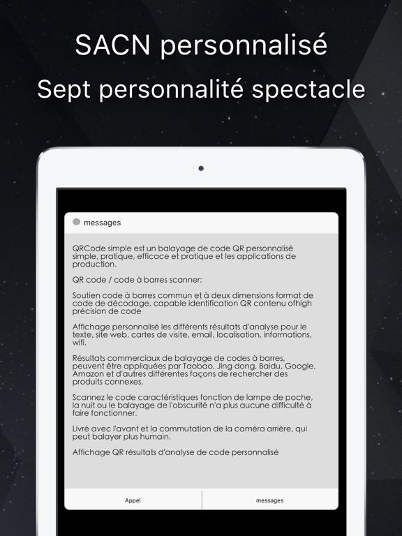 Screenshot 6 Pour QR Code Simple Gratuit