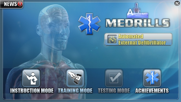 Medrills: AED screenshot-0