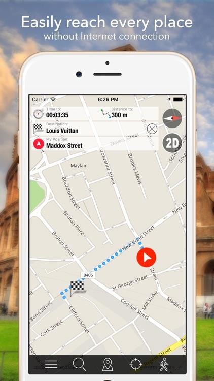 Positano (Amalfi) Offline Map Navigator and Guide screenshot-3