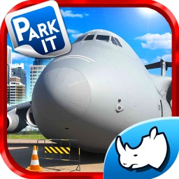 Fly to Park Xtreme Army Airplane Low Flying,landing & Parking Simulator