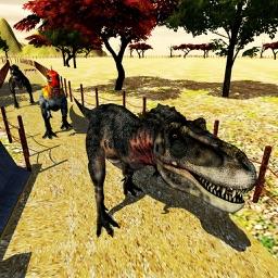 Dinosaur Jurassic Race Run 3D - Ultimate Animal Racing Game