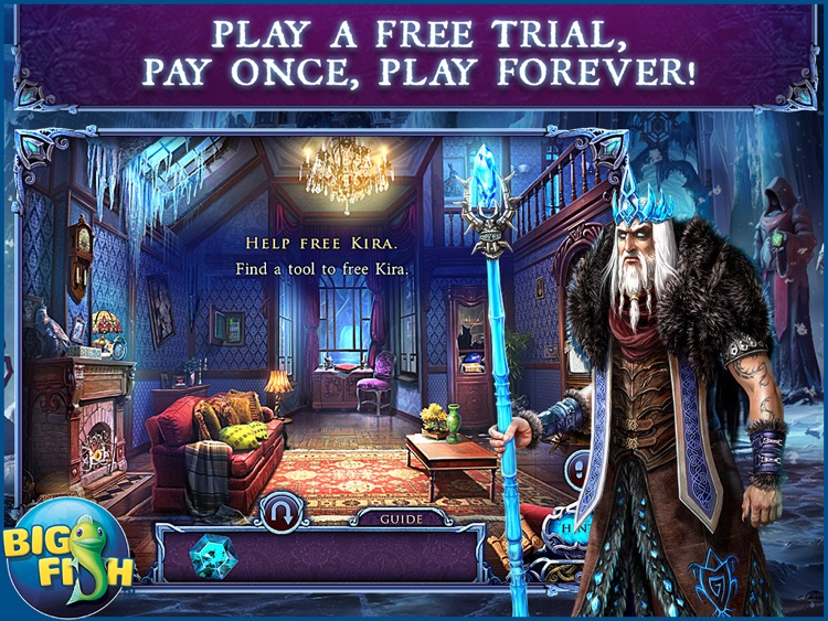 Mystery of the Ancients: Deadly Cold HD - A Hidden Object Adventure screenshot-0