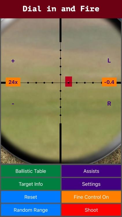 Longshot - Long Range Shooting Simulator & Mil Dot screenshot-3