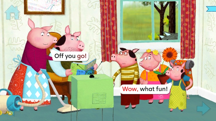 The Three Little Pigs by Nosy Crow screenshot-0