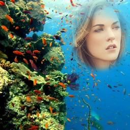 Under Water Frame-Photo Set Water Frame