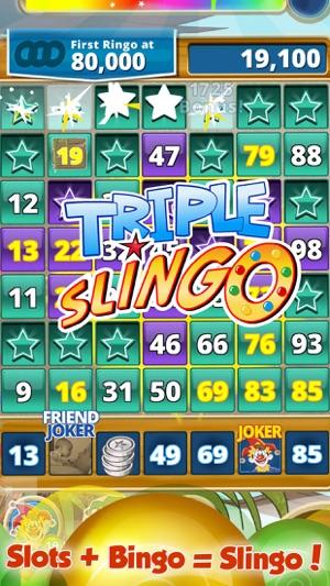 Slingo bingo nom de jeux de cartes au casino