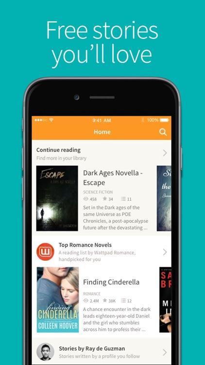 Wattpad - Free Books and eBook Reader