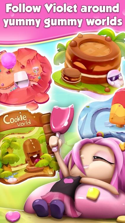 Cookie Smash Match 3 Game: Swap Candies and Crush Sweet.s in Adventorous Juicy Land screenshot-3