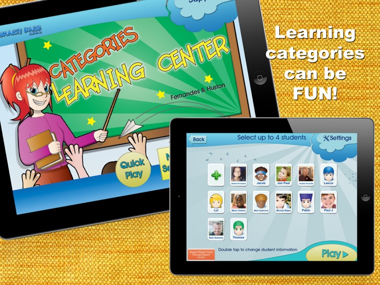 categories learning center by smarty ears