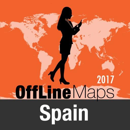 西班牙 離線地圖和旅行指南