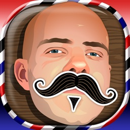 Beard And Mustache Photo Booth: Barber Shop Editor