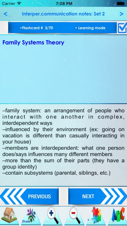 Interpersonal Communication: 1560 Notes & Quizzes screenshot-3